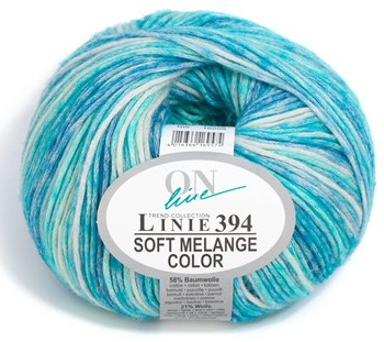 Linie 394 SOFT MELANGE Color Wolle