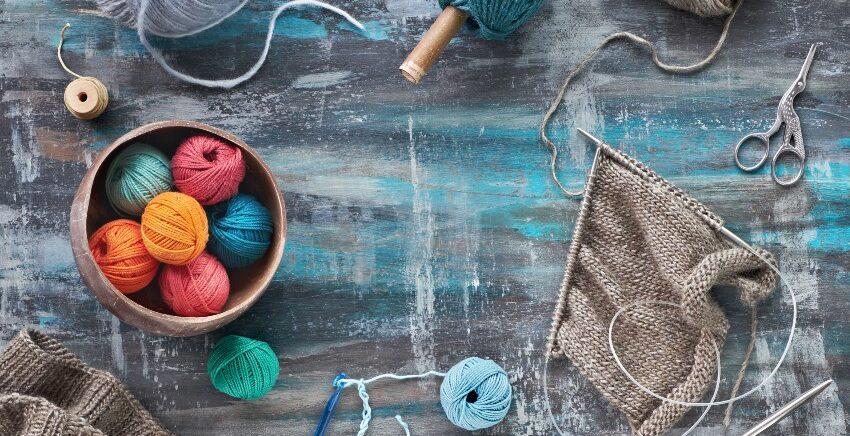 Handarbeiten - stricken, häkeln, weben