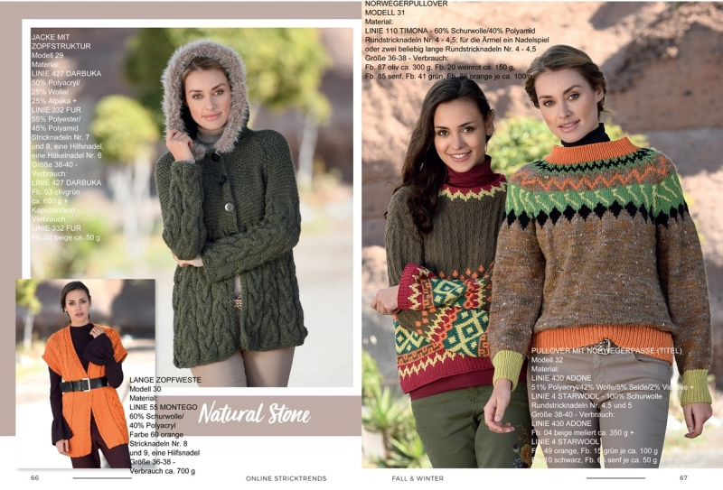 Strickheft Stricktrends Fall & Winter 2018 66_67