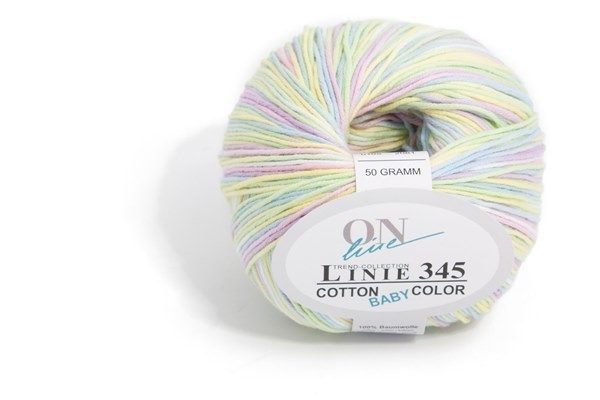 Wolle Linie 345 Cotton Baby Color