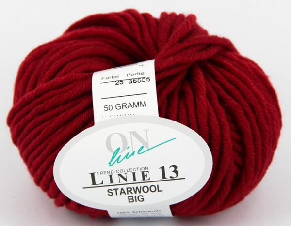 ONline Wolle Linie 13 Starwool Big Fb 25