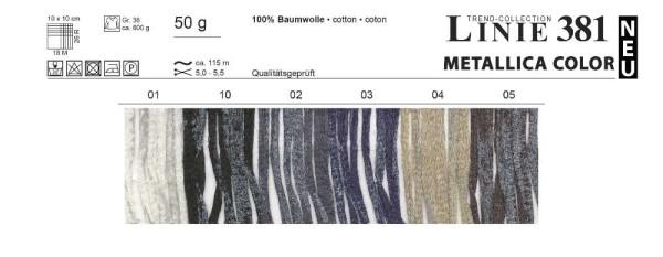 LINIE 381 METALLICA COLOR von ONline Wolle