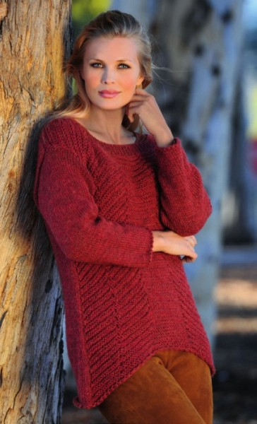 Strickanleitung Pullover Linie 352 Corby 3740