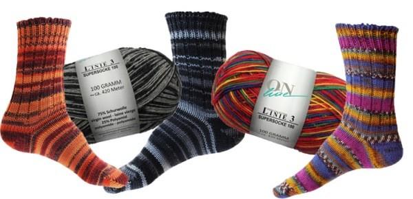 Socken Stricken Anleitung Sockenwolle Trendgarne