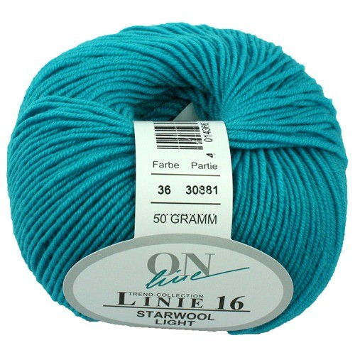 Wolle ONline Linie 16 Starwool Light Fb 36