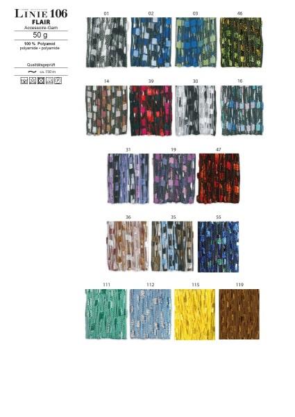 LINIE 106 FLAIR von ONline Wolle