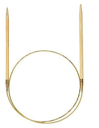 addi Bambus-Rundstricknadeln 80cm