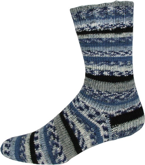 Stricksocken Sensitive Color gestrickte Socken 01