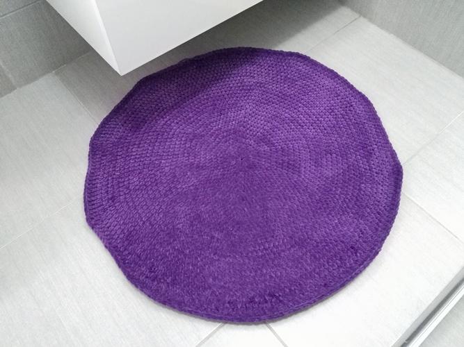 Bild-Teppich-Badezimmer