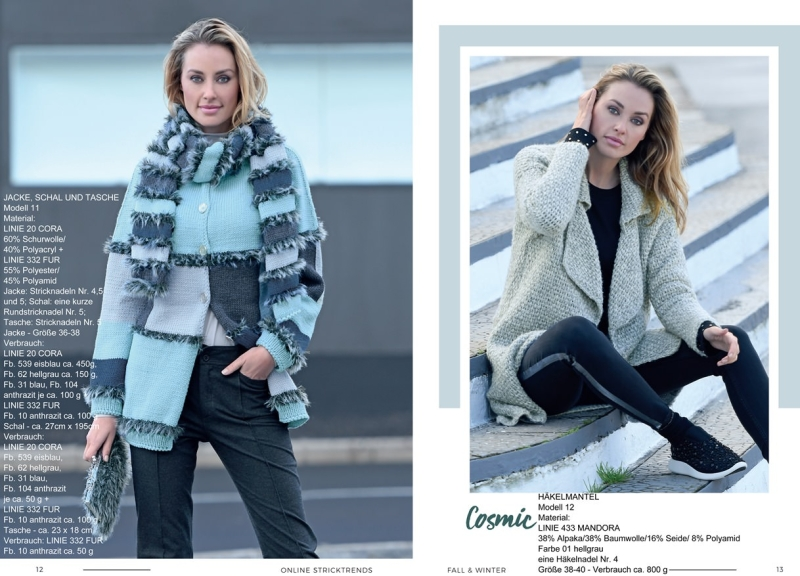 Strickheft Stricktrends Fall & Winter 2018 12_13