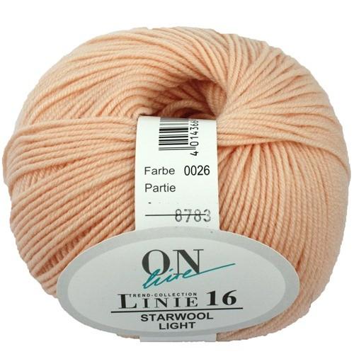 Wolle ONline Linie 16 Starwool Light Fb 26