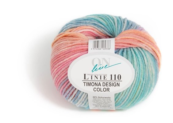 ONline Wolle Linie 110 Timona Design Color