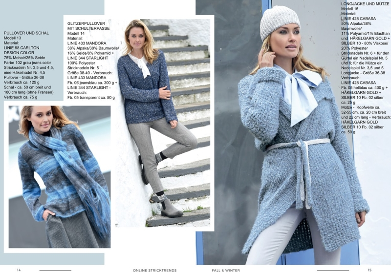 Strickheft Stricktrends Fall & Winter 2018 14_15