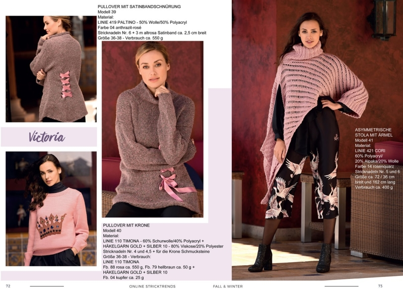 Strickheft Stricktrends Fall & Winter 2018 72_73