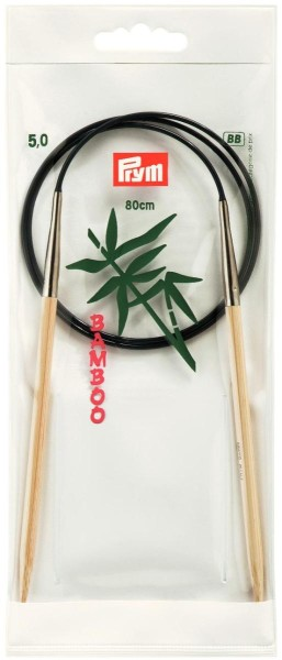 Prym Bambus Rundstricknadel
