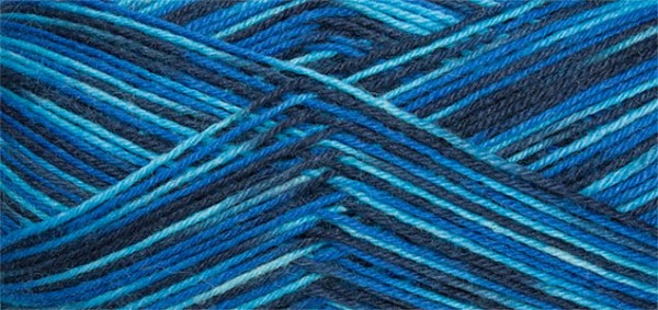 Sockenwolle Supersocke 100 Linie 3 Color Fb 605