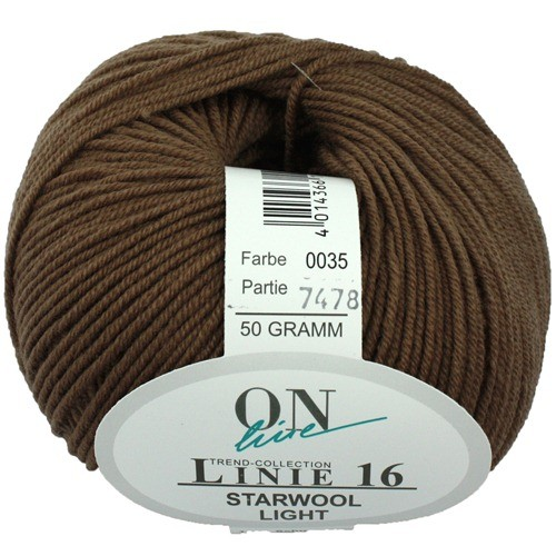 Wolle ONline Linie 16 Starwool Light Fb 35