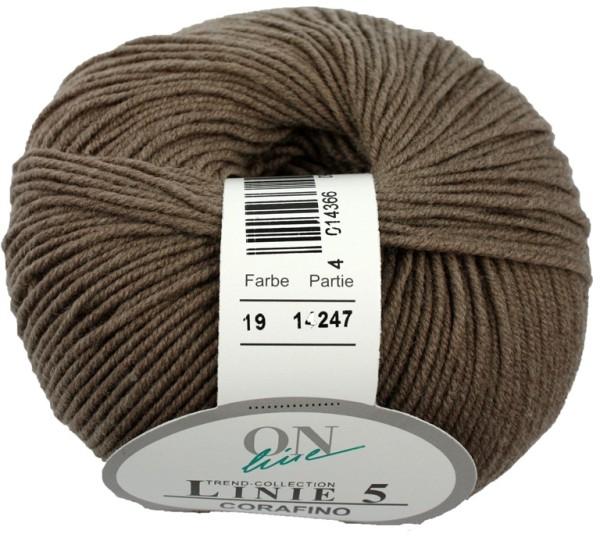 Linie 5 Corafino ONline Wolle Fb. 19