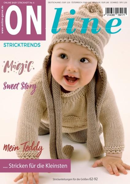 Stricktrends Strickheft Nr 6 Baby Kleinkind