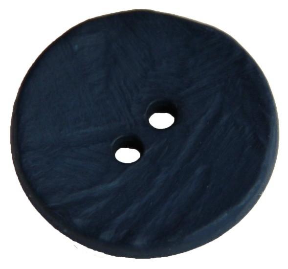 Knopf 2-Loch 30 mm blau